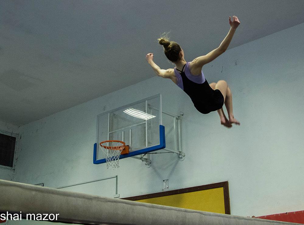 התעמלות בחיפה - מכבי חיפה כרמל (צילום: שי מזור)