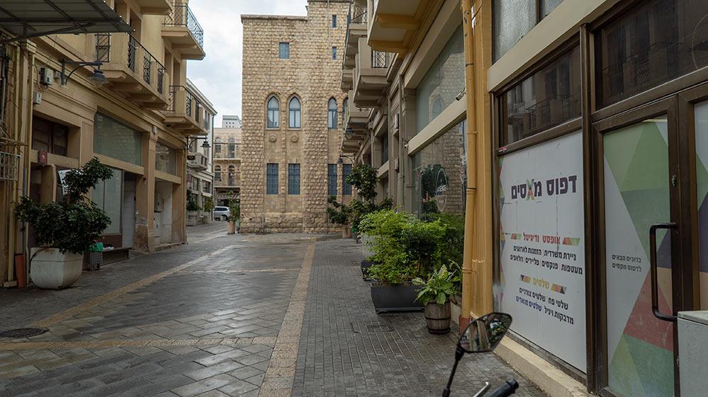 העיר התחתית מתחם 21 השוק הטורקי (צילום: ירון כרמי)