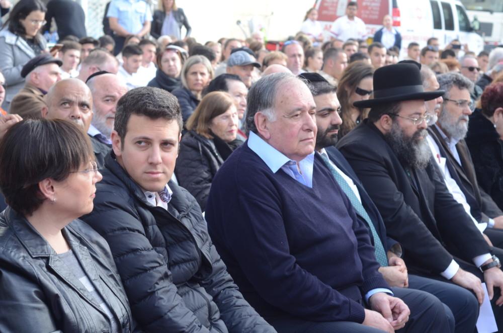 יום השואה הבינלאומי - יד עזר לחבר - חיפה - 27/1/2019 (צילום: חגית אברהם)