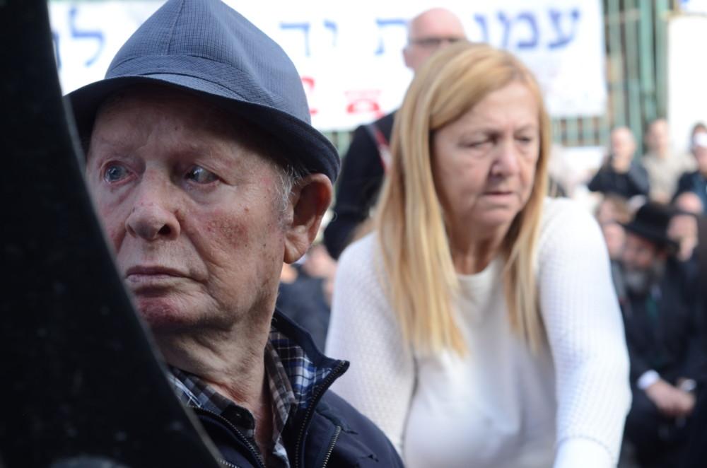 יום השואה הבינלאומי - יד עזר לחבר - חיפה (צילום חגית אברהם)