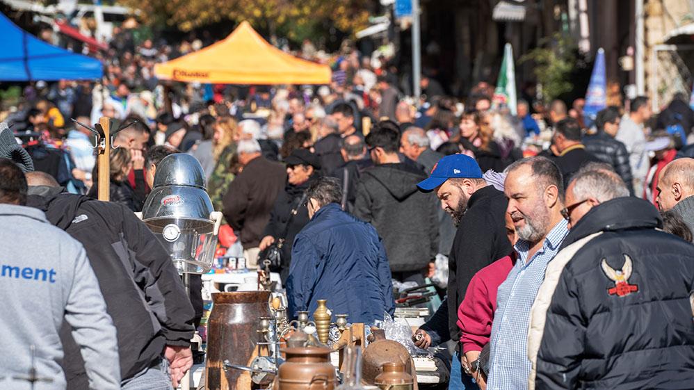 שוק הפשפשים בחיפה (צילום: ירון כרמי)