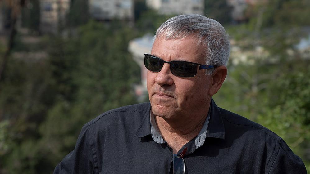 """אלי אלקבץ, מנהל אגף שפ""""ע בעיריית חיפה (צילום: ירון כרמי)"""