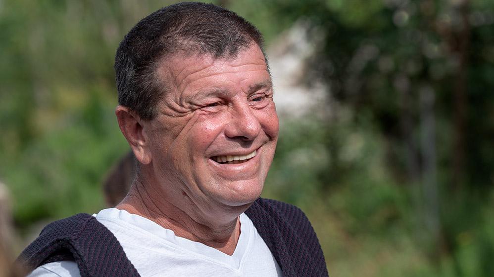 חנוך בורגר - אגרונום (צילום: ירון כרמי)