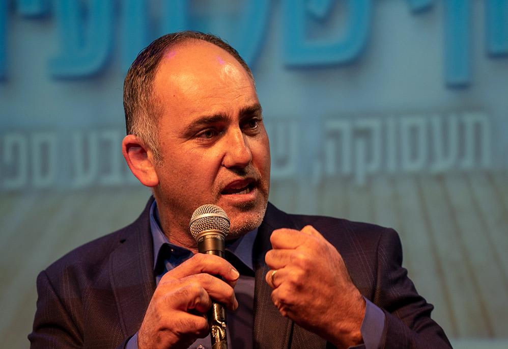 """ביאדסי פאח'ר (מנכ""""ל מתחם הרכבל בחיפה) (צילום: ירון כרמי)"""