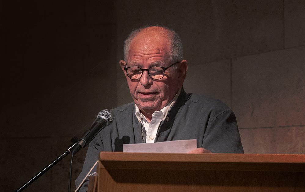 דניאל גרץ -נשיא בני ברית ישראל (צילום: ירון כרמי)