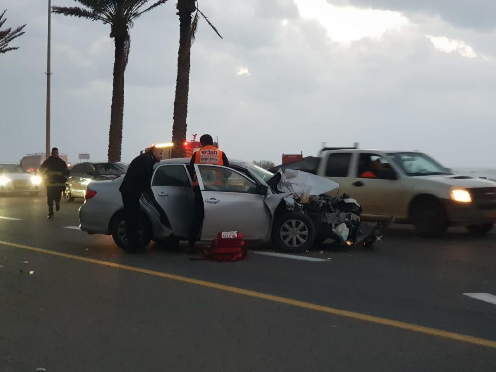 תאונה דרכים (צילום: איחוד הצלה)