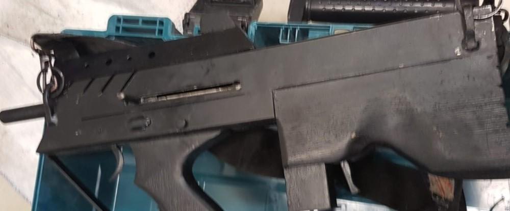נשק (צילום דוברות המשטרה)