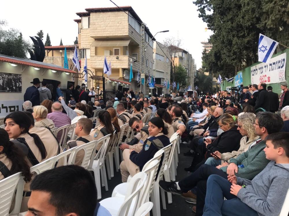יום השואה הבינלאומי - יד עזר לחבר - חיפה (צילום נגה כרמי)