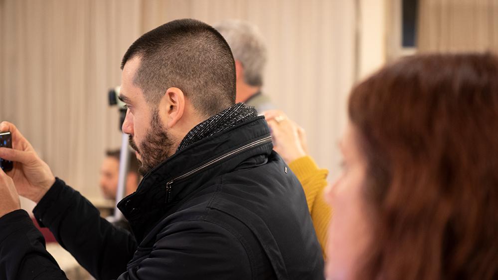 מסיבת העיתונאים - צוות מחקר סביבתי