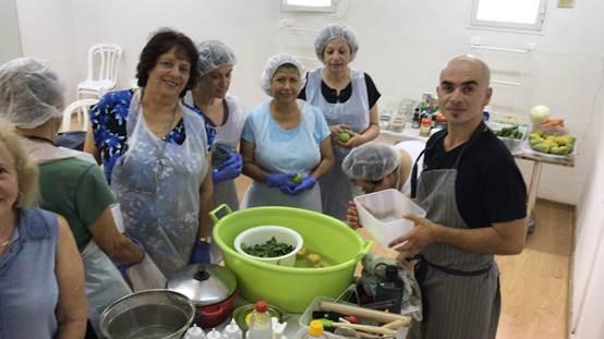 סדנת בישול בריא - ספורטן חיפה