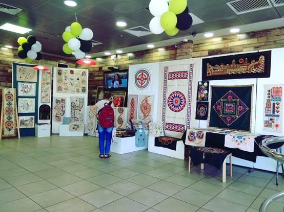 תערוכת חוג האמנות של המועדון - חיפה