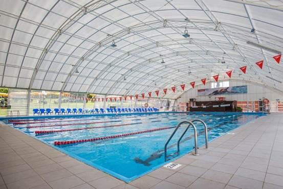בריכת שחייה מקורה - צילום: סוזי לוינסון -ספורטן חיפה