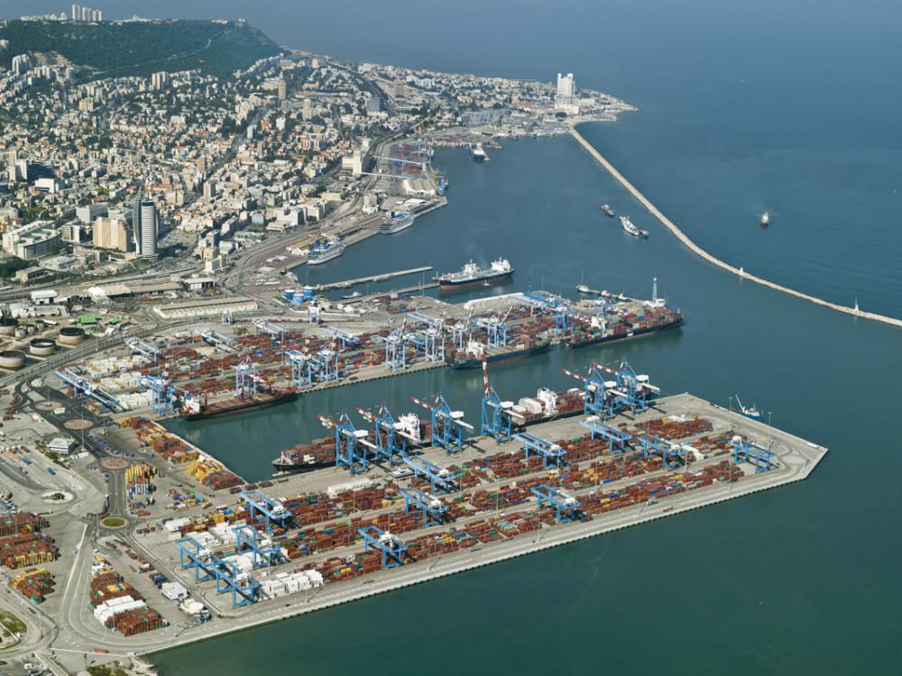 נמל חיפה-מכולות