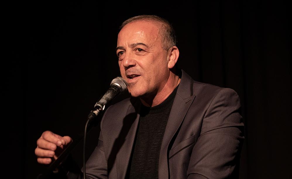 אכרם חסון (צילום: ירון כרמי)