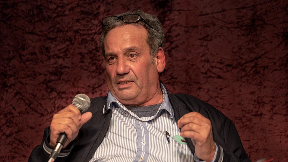 אמנון ארגמן רוטשטיין - במאי ומורה למשחק (צילום: ירון כרמי)