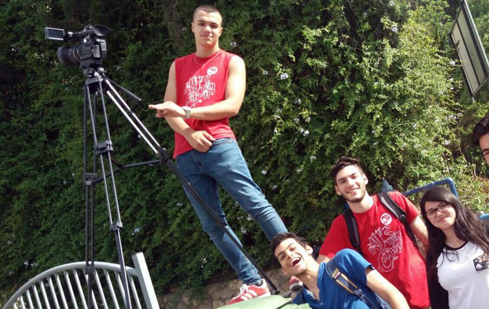 """תומר בן שימול הבמאי וצוות ההפקה בסרט """"אבא טוב"""" - זהב בפסטיבל הסרטים"""