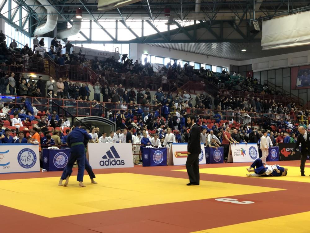אליפות הג'ודו הבינלאומית (צילום: אילנה קרטיש)