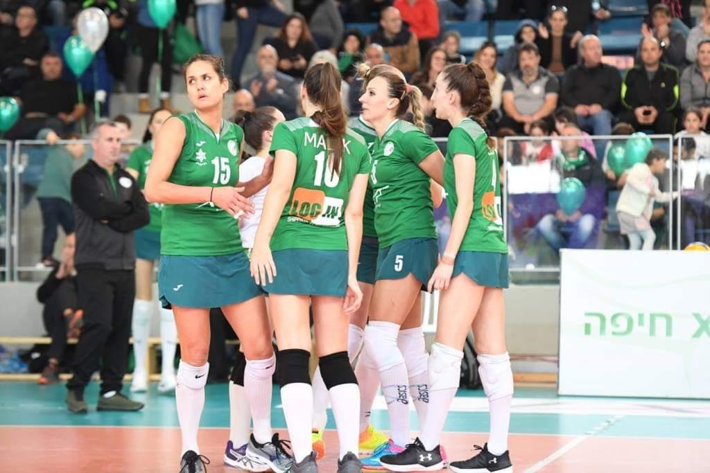 מכבי XT חיפה (צילום: ראובן כהן)