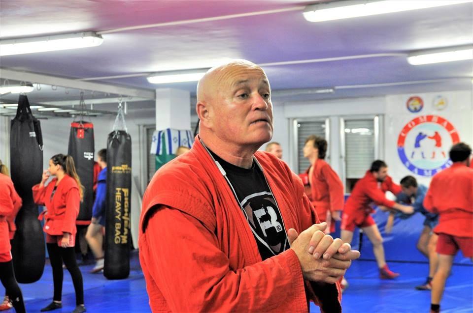 בוריס לרמן, מנהל מועדון סמבו חיפה (צילום: אלבום אישי)