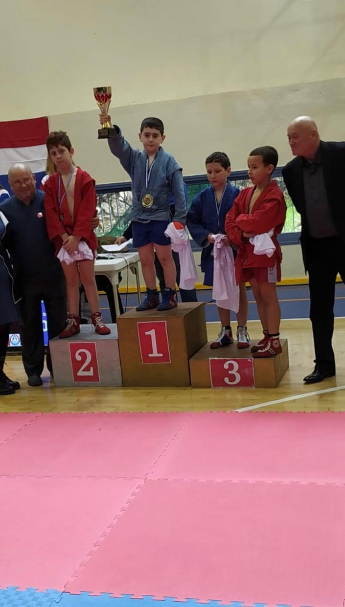 תחרות סמבו לזכרו של סמיון קלוצקין (צילום: ארינה דובקין)