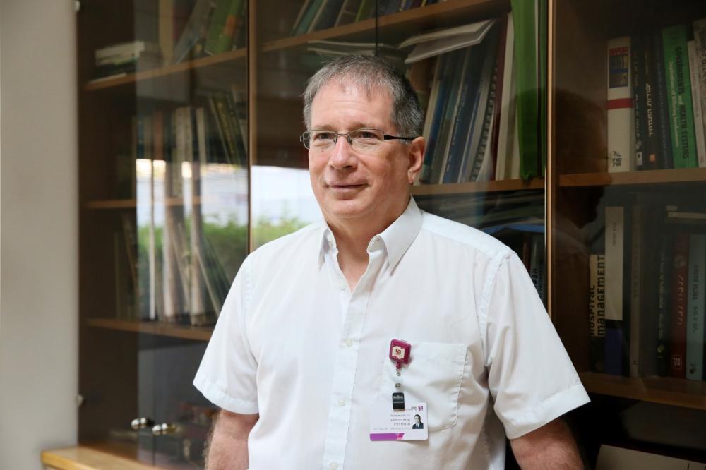"""ד״ר מיכאל הלברטל, מנכ""""ל הקריה הרפואית רמב""""ם (צילום: פיוטר פליטר)"""