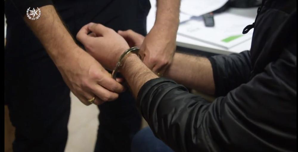 אזיקים (צילום משטרת ישראל)