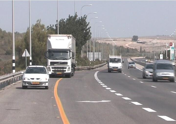 משאית (צילום: אור ירוק)