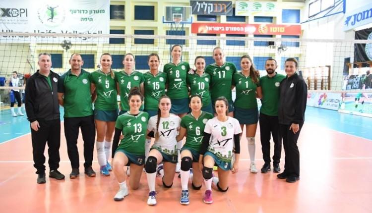 מכבי XT חיפה בגמר גביע המדינה (צילום: ראובן כהן)