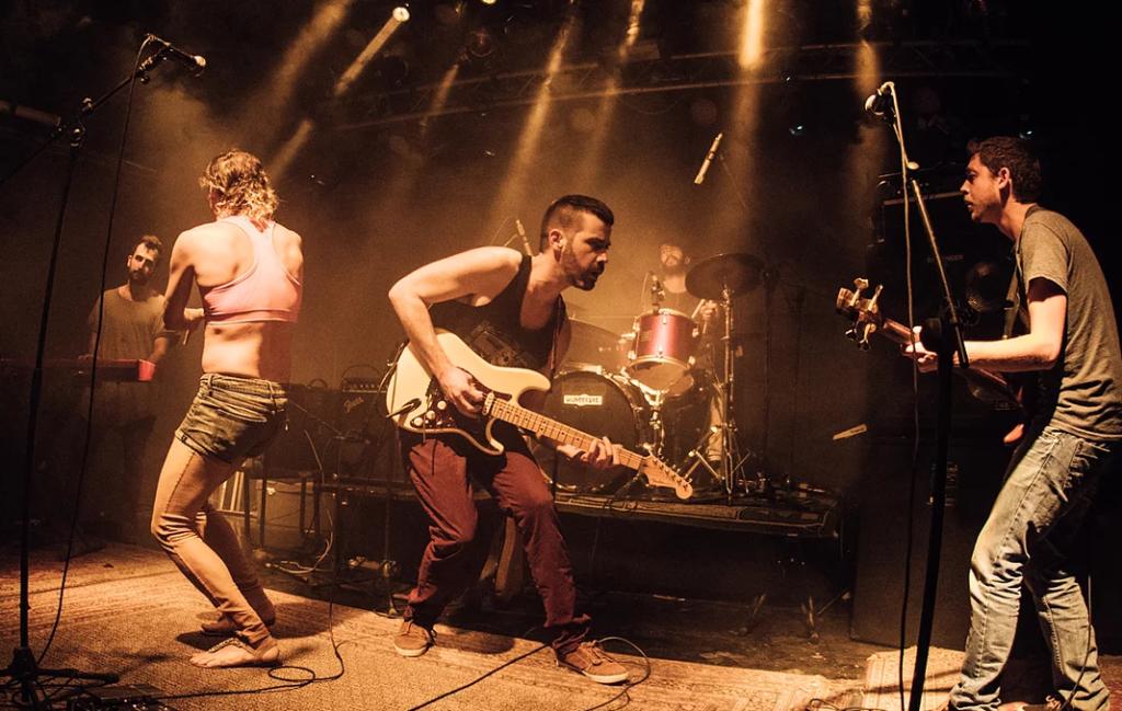 להקת SaffeK צילום יחצ תאטרון חיפה