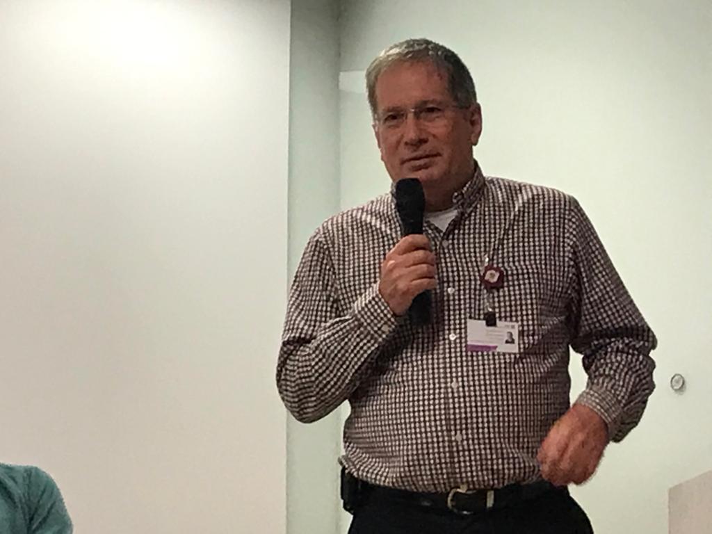 """ד""""ר מיכאל הלברטל מנהל רמב""""ם(צילום: נגה כרמי)"""