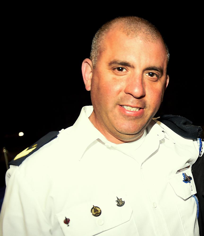 """רנ""""ג שחר ליבר רס""""ר ב""""ח של חיל הים בחיפה (צילום: ג'ו ליציאנו)"""