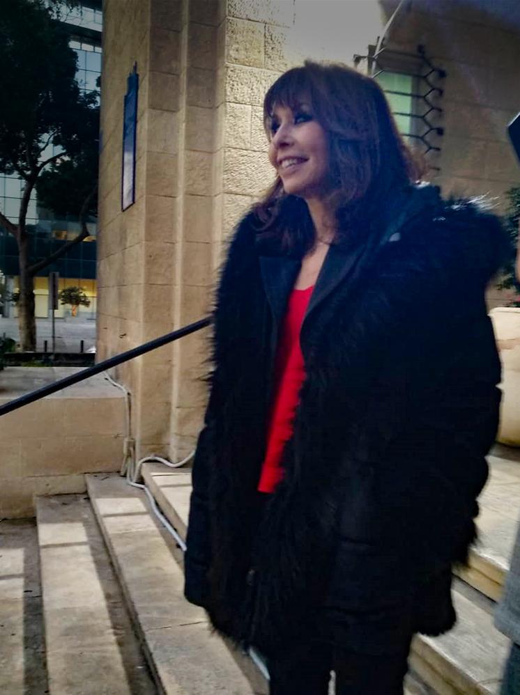 ירדנה ארזי בכנס אוהבי החתולים בחיפה (צילום: שרי צינמון פישר)