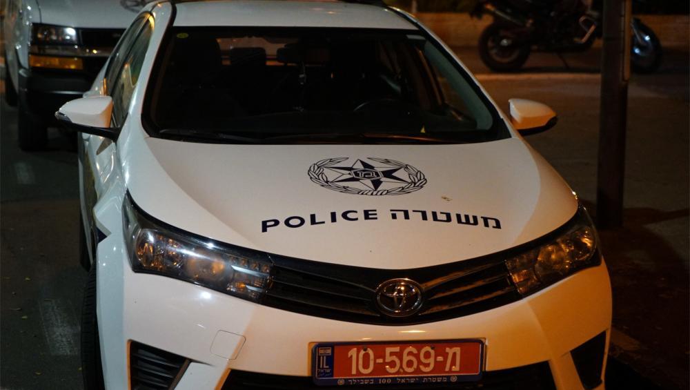 ניידת משטרה (צילום: ירון כרמי)