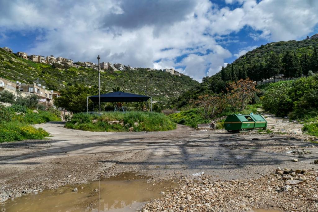 מוצא נחל שיח - טיול חורף בנחל שיח בחיפה - התמונות ומסלול הטיול (צילום: גלעד שטיין)