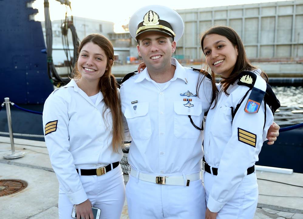 טקס סיום קורס חובלים בחיפה (צילום: ג'ו לוציאנו)