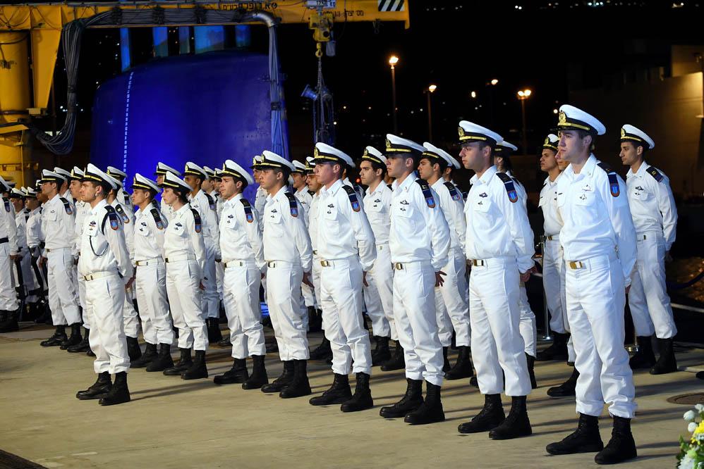 החובלים החדשים בטקס סיום קורס חובלים בחיפה (צילום: ג'ו לוציאנו)