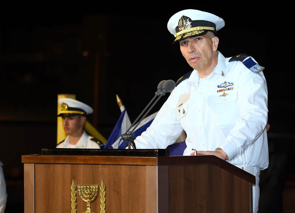 מפקד זרוע הים, אלוף אליהו (אלי) שרביט (צילום: ג'ו לוציאנו)