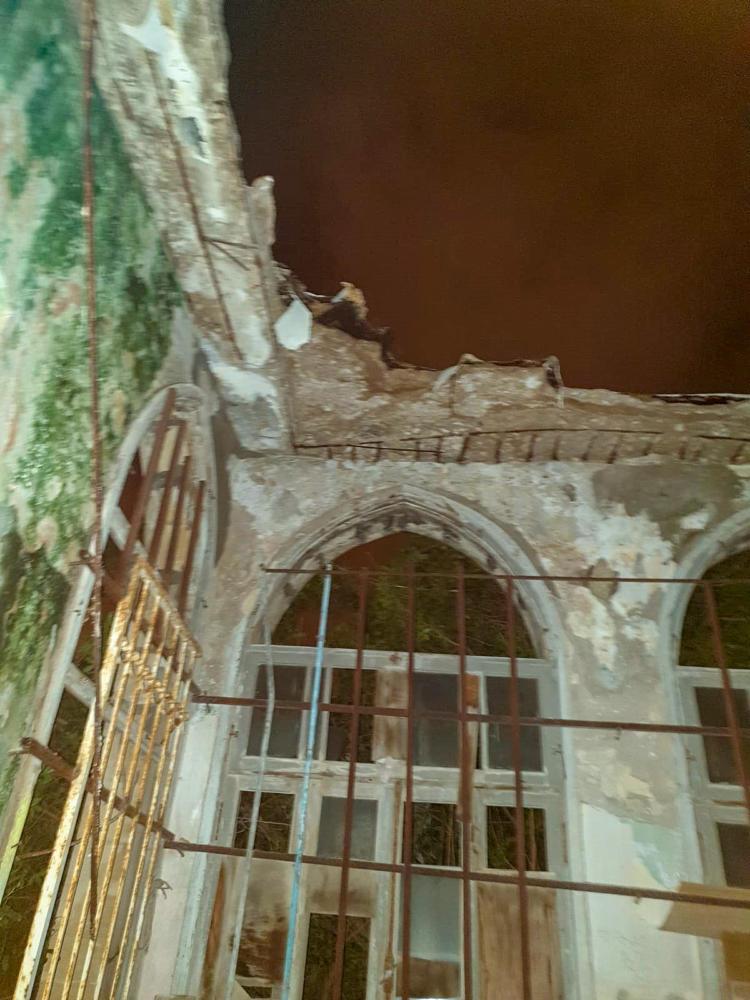 בית חמאווי - ללא תקרה (צילום: לוחמי האש)