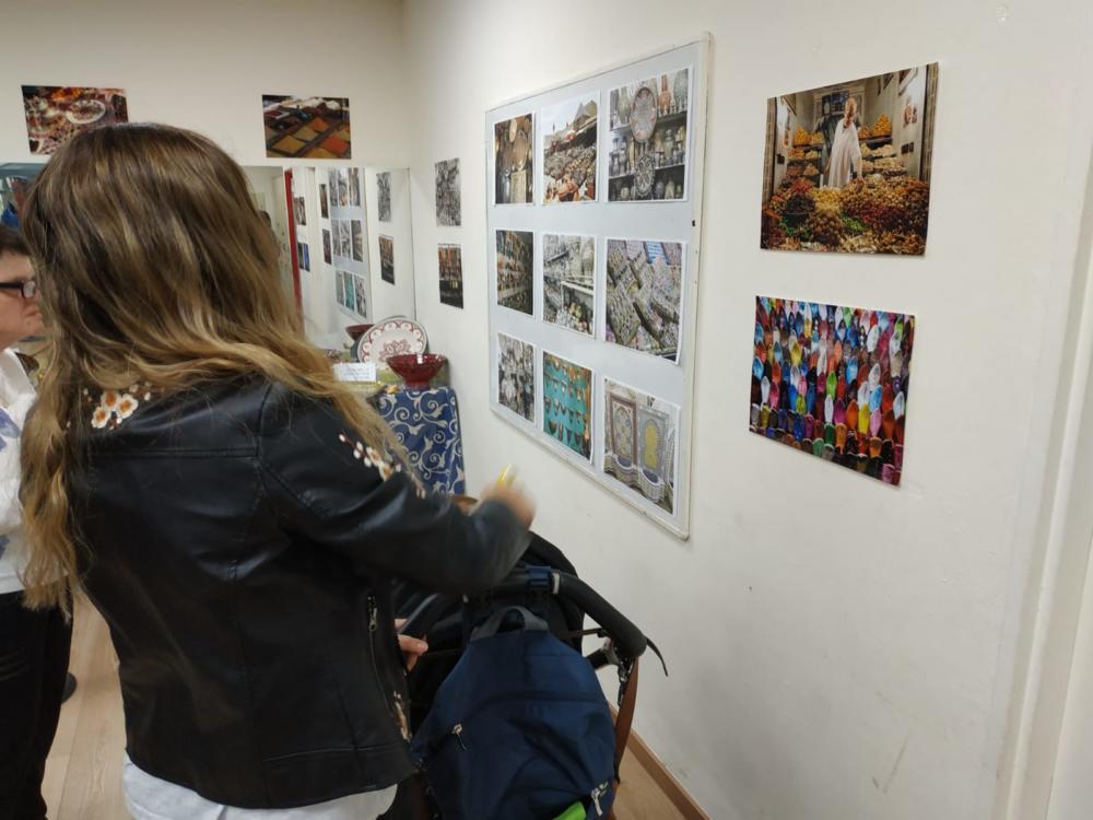 """תערוכה - מימונה במתנ""""ס רמת אלון (צילום: זאב חורפי)"""
