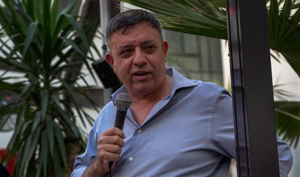 """אבי גבאי - יו""""ר מפלגת העבודה (צילום: ירון כרמי)"""