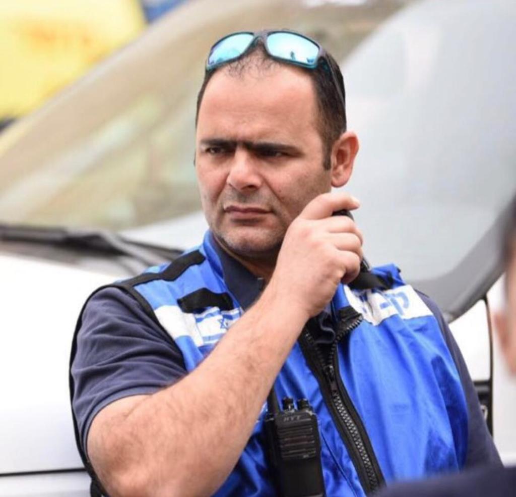 יחיאל (חיליק אמסלם) מנהל אגף חופים בעיריית חיפה
