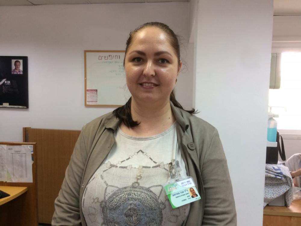 """ד""""ר אנה פטרוסב (צילום: דוברות כללית)"""