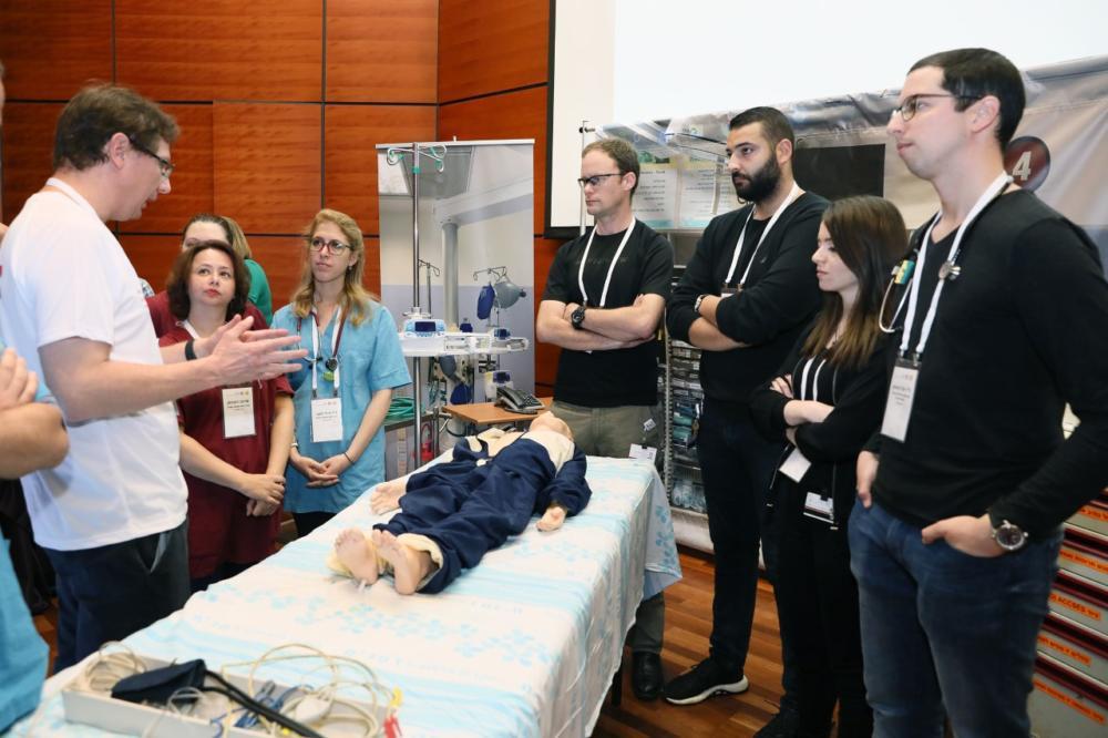 """תחרות ראשונה מסוגה בקריה הרפואית רמב""""ם (צילום: דוברות רמב""""ם)"""