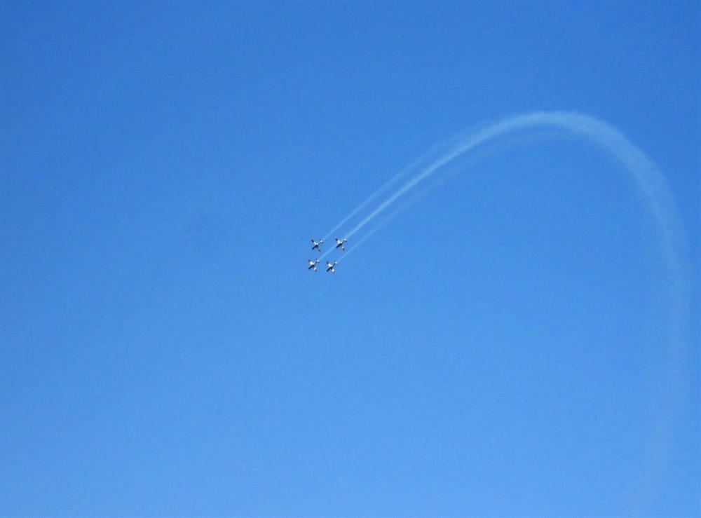 אימוני חיל האוויר בחיפה (צילום נילי בנו)