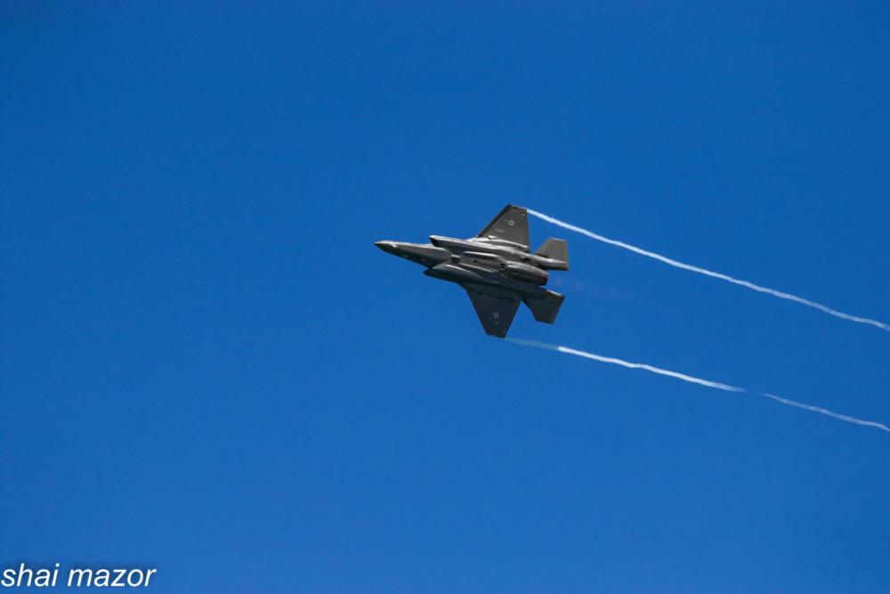 אדיר - F35 - חמקן - מטס חיל אויר חיפה: צילום שי מזור