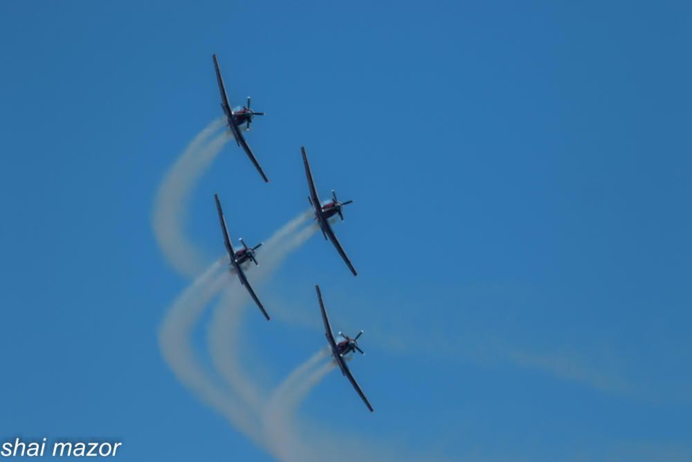 מטס חיל אויר חיפה: צילום שי מזור