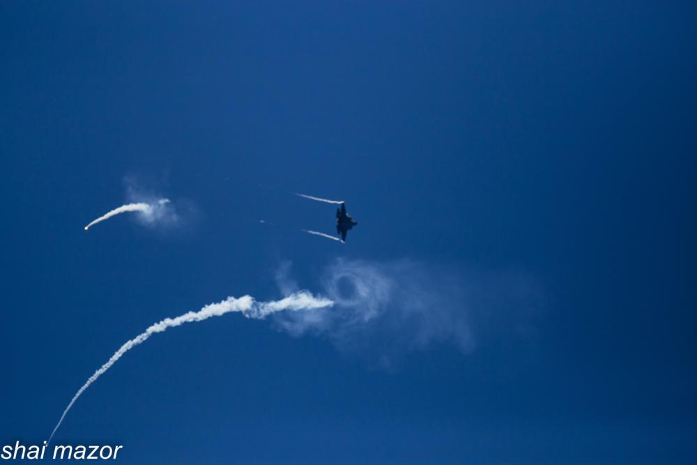 מטוס הקרב אדיר - F35 חמקן - מטס חיל אויר חיפה: צילום שי מזור
