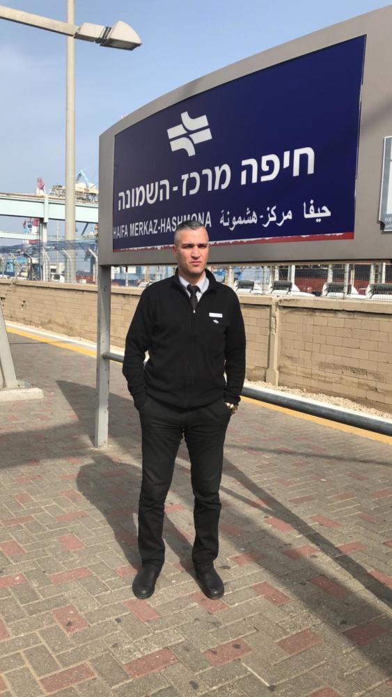 מאיר אברג'יל צילום: דוברות רכבת ישראל