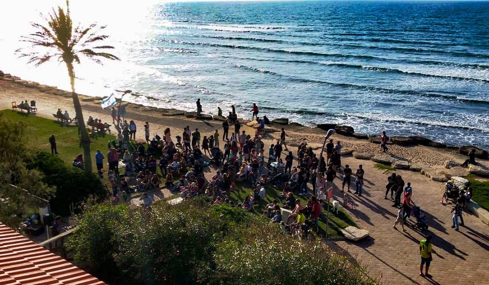 פסטיבל גלימבה הראשון בחיפה (צילום: נדב)