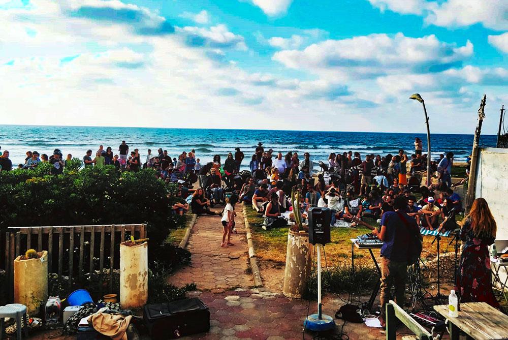 פסטיבל גלימבה הראשון בשכונת בת גלים בחיפה (צילום: טלי אינגר בר)